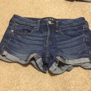 Express jean shorts size 4. Two pairs
